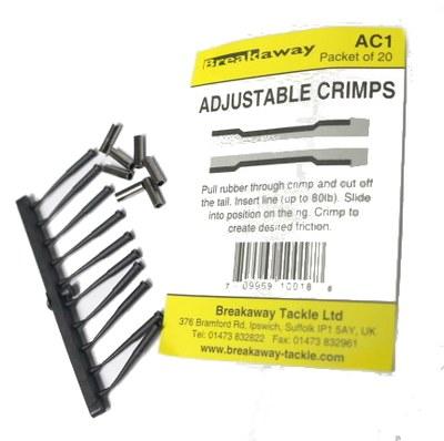 Breakaway Adjustable Crimps