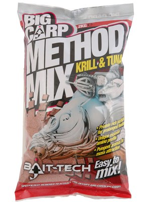 Bait-Tech Big Carp Method Mix Krill & Tuna 2kg