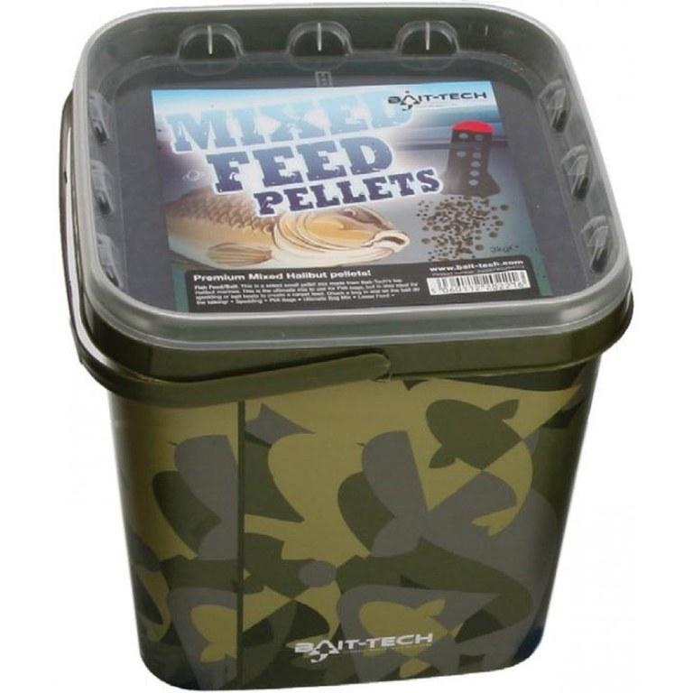 Bait-Tech Mixed Feed Pellets 3kg