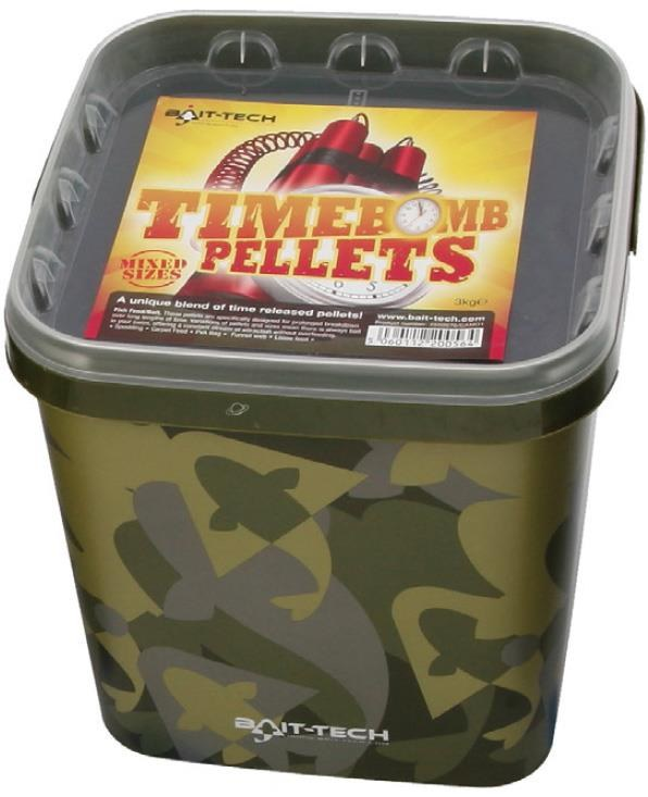 Bait-Tech Time Bomb Pellets 3kg