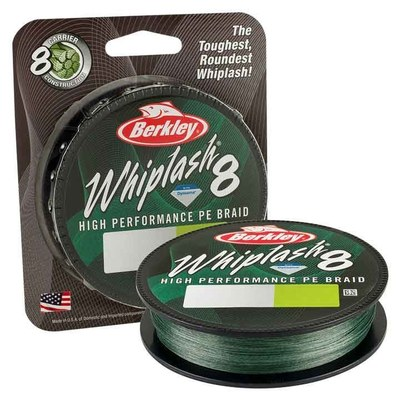 Berkley Whiplash 8 Braid 300m Moss Green