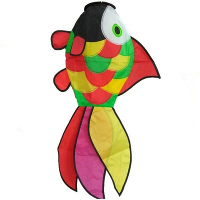 Colourful Fantail Windsock 88 x 45cm