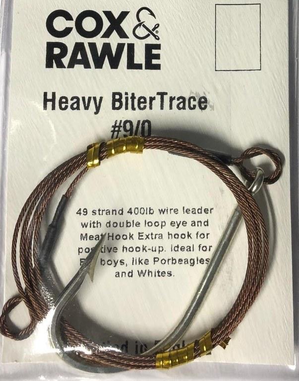 Cox & Rawle Shark Biter Trace Size 9/0