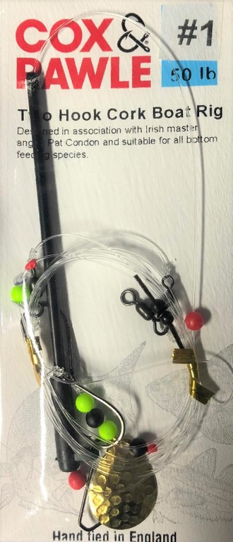 Cox & Rawle Two Hook Cork Boat Rig Size 1