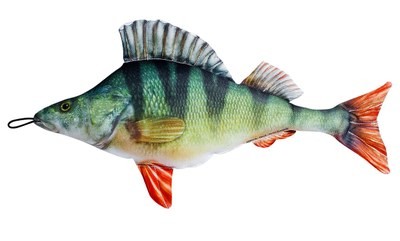 Fladen Cuddly Fish Cushion Perch 25cm