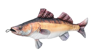 Fladen Cuddly Fish Cushion Zander