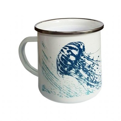 Enamel Mug Fish Design