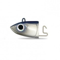 Fiiish Black Minnow 120 Size No 3 Jig Heads Blue Off Shore