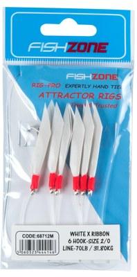 Fishzone White x Ribbon