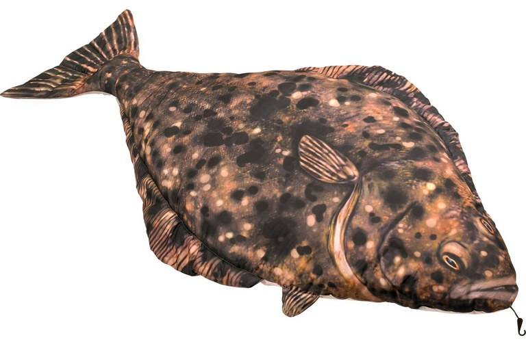 Fladen Cuddly Fish Cushion Halibut