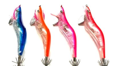 Fladen LED Blinker Squid Jigs