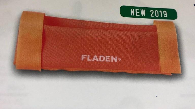 Fladen Rail Rod Holder Boat Neon Orange