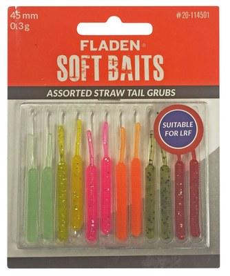 Fladen Straw Tail Grubs