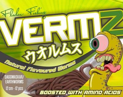 Fladen Vermz Worms Earthworm 12cm