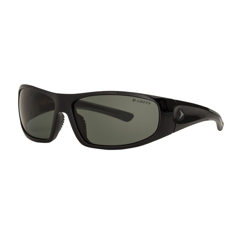 Greys G1 Sunglasses Gloss Black Green/Grey
