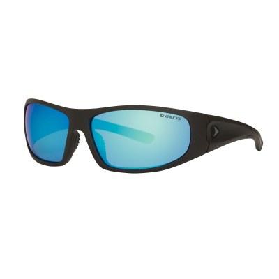 Greys G1 Sunglasses Matt Carbon Blue Mirror