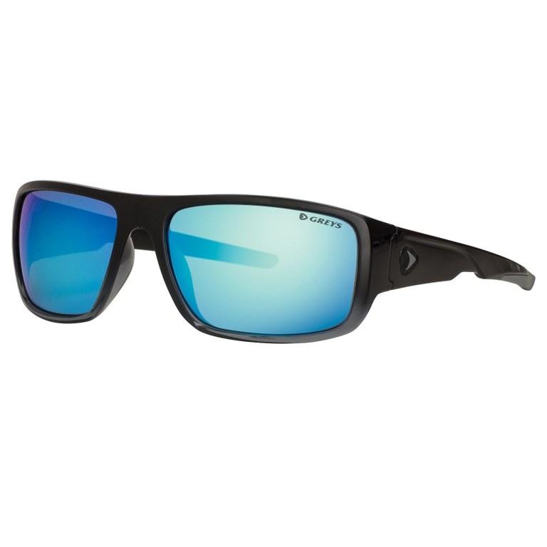 Greys G2 Sunglasses Gloss Black Blue Mirror