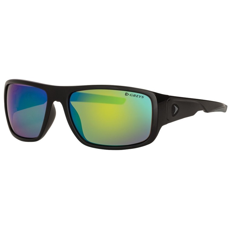Greys G2 Sunglasses Gloss Black Green Mirror