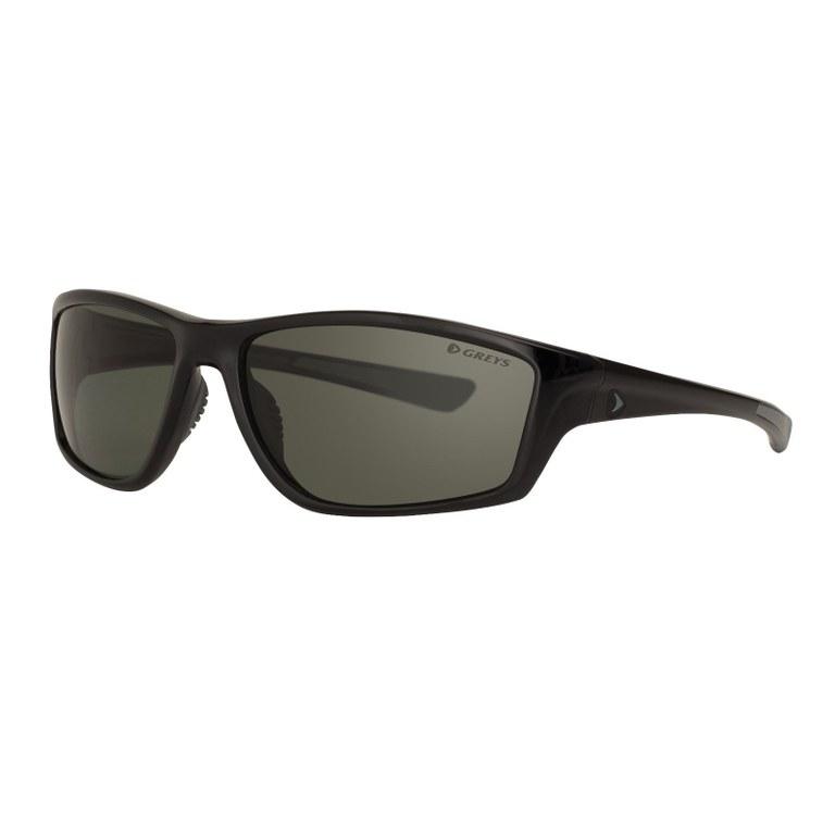 Greys G3 Sunglasses Gloss Black Green Grey