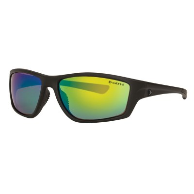 Greys G3 Sunglasses Matt Carbon Green Mirror
