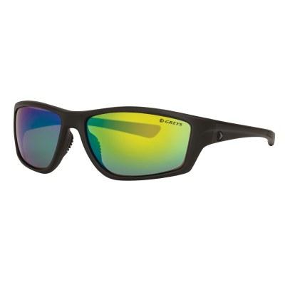 Greys G3 Sunglasses Matt Carbon Green Mirror
