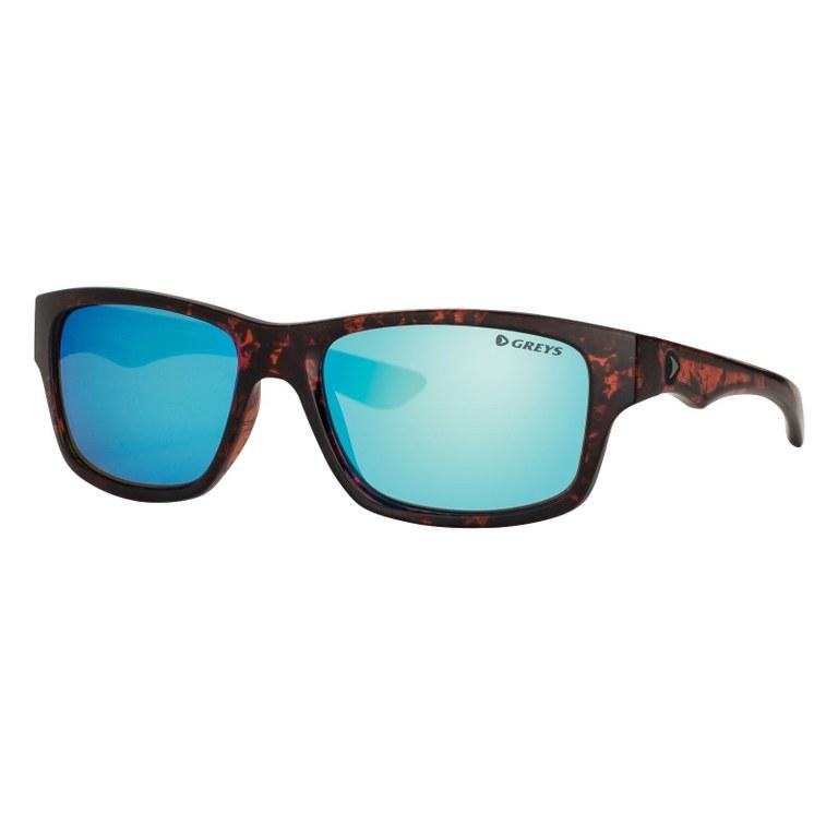 Greys G4 Sunglasses Gloss Tortoise Blue Mirror