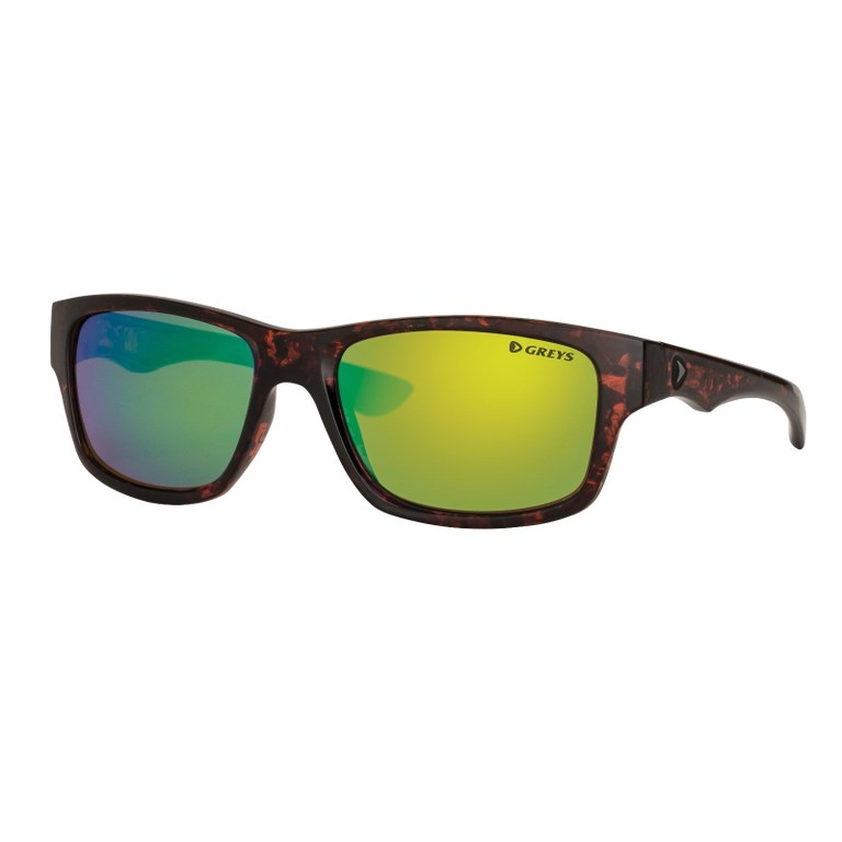 Greys G4 Sunglasses Gloss Tortoise Green Mirror