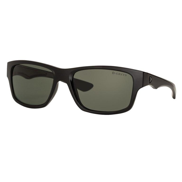 Greys G4 Sunglasses Matt Black Green Grey
