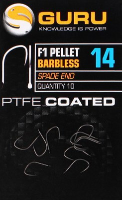 Guru F1 Pellet Hook Barbless