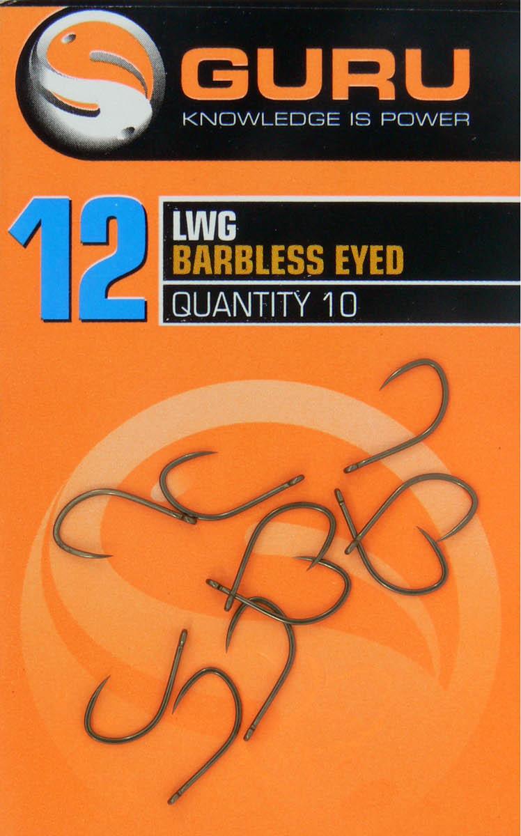 Guru LWG Barbless Spade End Hooks