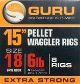 "Guru Pellet Waggler 15"" Rigs"
