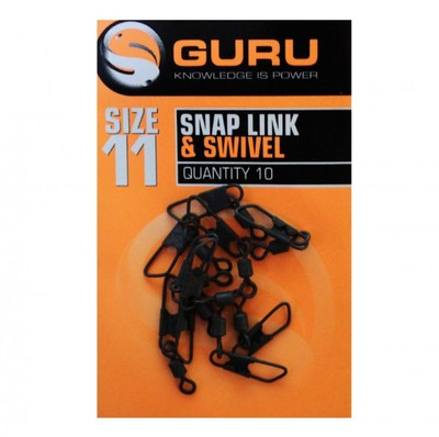 Guru Snap Link & Swivel Size 11