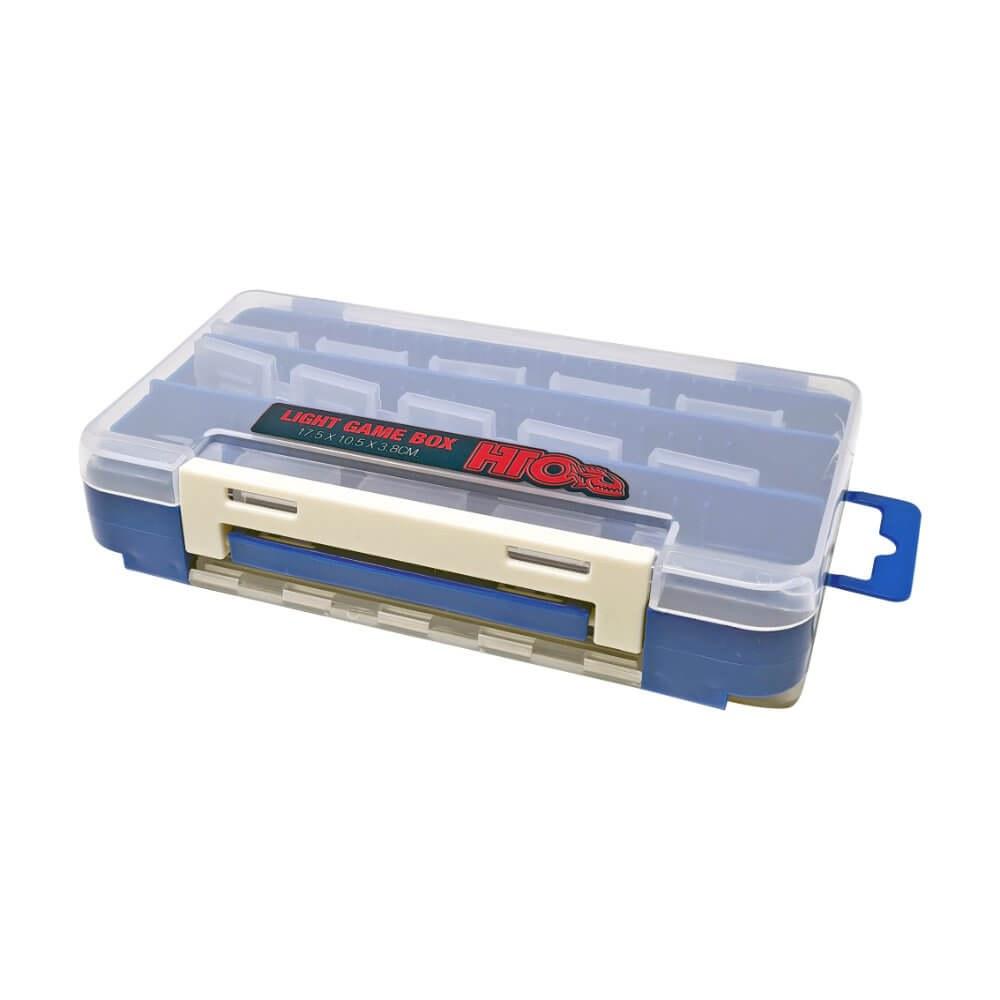 HTO Light Game Tackle Box Blue