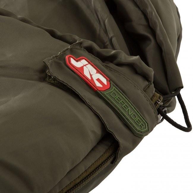 JRC Defender Sleeping Bag close up