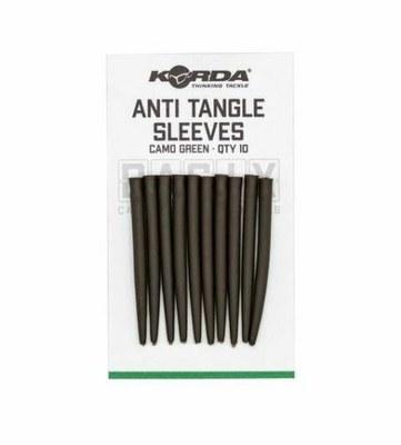 Korda Basix Anti Tangle Sleeves Camo Green