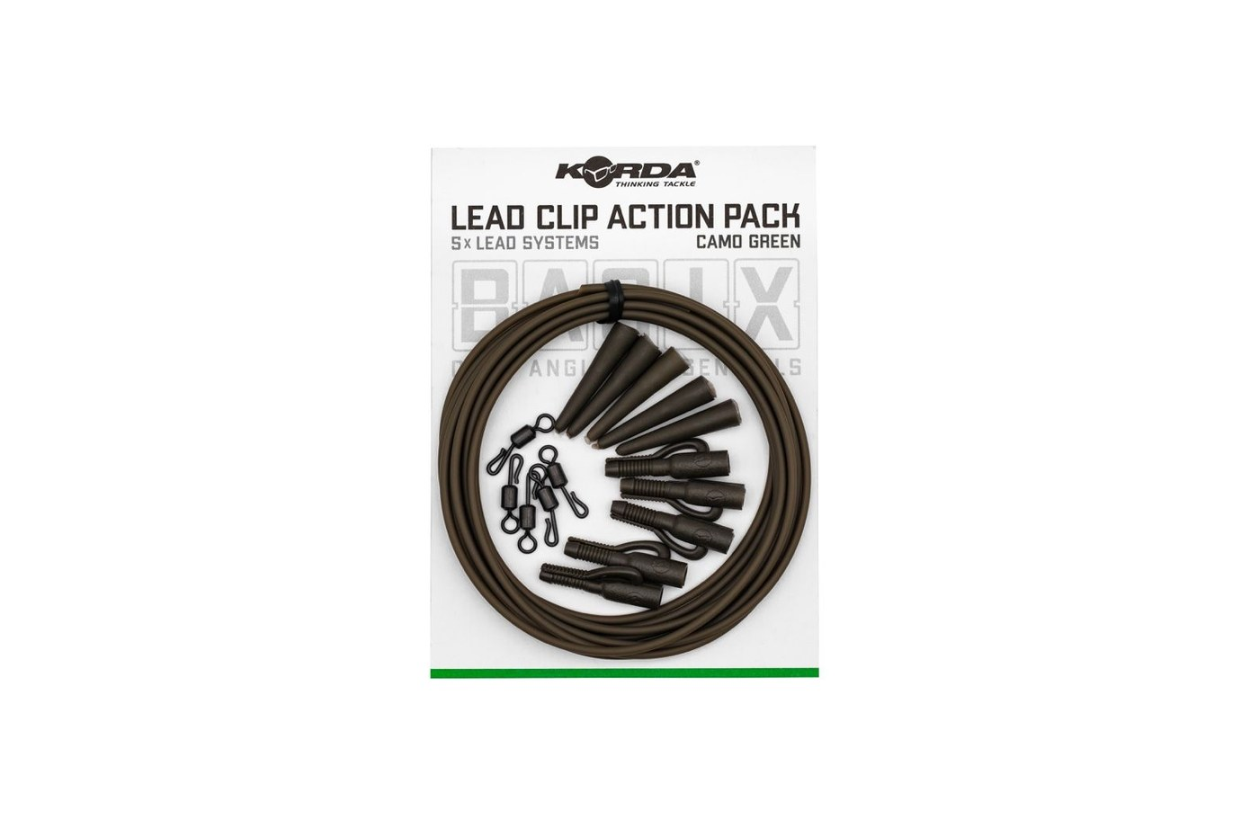 Korda Basix Clip Action Pack