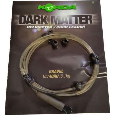 Korda Dark Matter Helicopter Chod Leader Gravel
