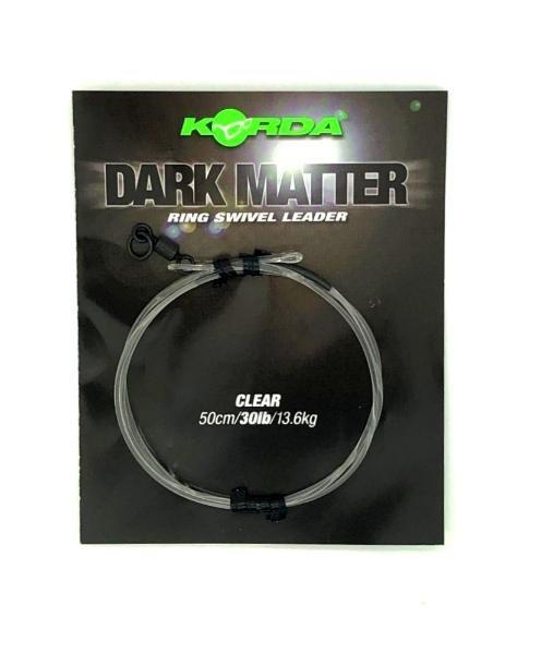 Korda Dark Matter Ring Swivel Leader