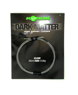 Korda Dark Matter Leader Ring Swivel 30lb