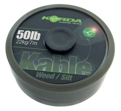 Korda Kable Leadcore Weed Silt