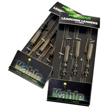 Korda Leadcore Helicopter Leaders Weed Silt