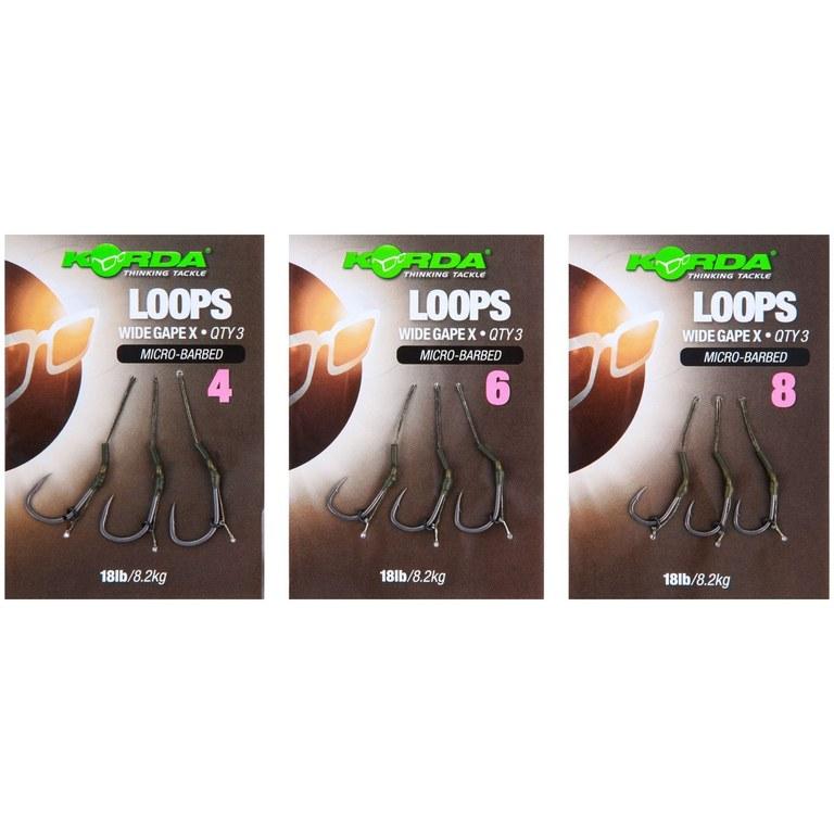 Korda Loop DF Wide Gape X Micro Barbed