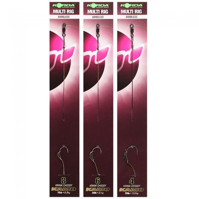 Korda Multi Rigs Barbless