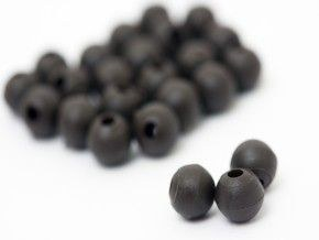 Korda Rubber Beads Weed Green 4mm