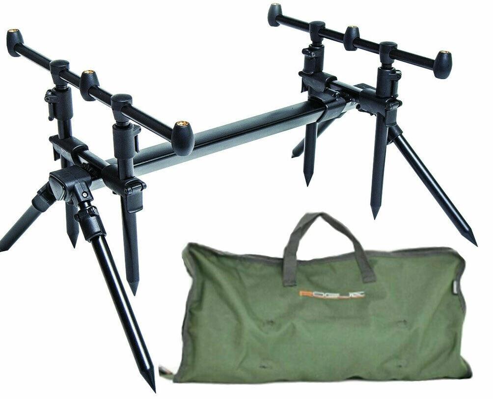 Leeda Rogue 3 in 1 Rod Pod + Carry Case