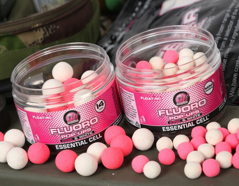 Mainline Fluoro Pop Ups Pink & White Link