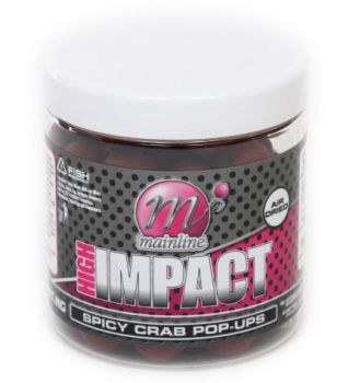 Mainline High Impact Pop-Ups Spicy Crab 15mm