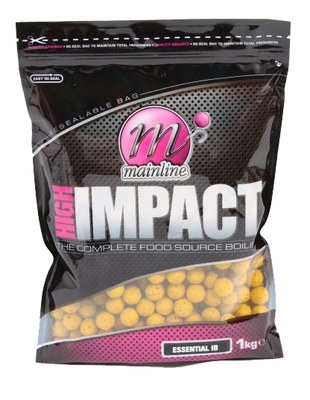 Mainline High Impact Shelf Life Boilies 1kg Essential IB