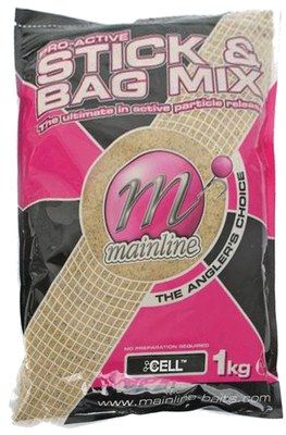 Mainline Pro-Active Stick and Bag 1kg Cell
