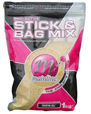 Mainline Pro-Active Stick and Bag 1kg Essential Cell